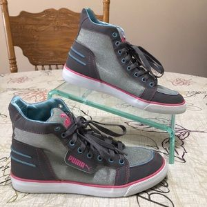 Puma High Top Sneakers Size 7.5